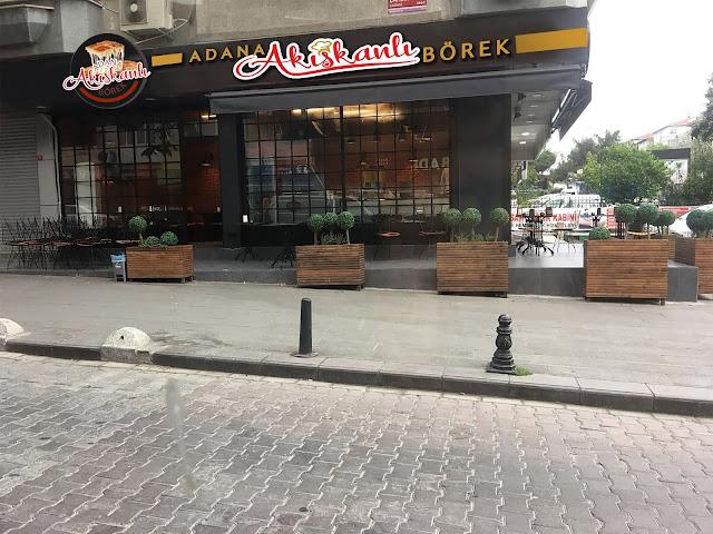 Adana Akışkanlı Börekçi Tabela Tasarımı