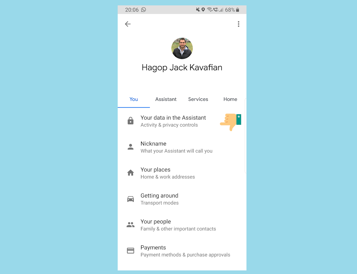 Google is making it easier for Android users to control their data from Assistant settings