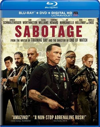 Sabotage 2014 Dual Audio Hindi 480p BluRay 300MB