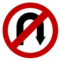 rambu dilarang putar balik