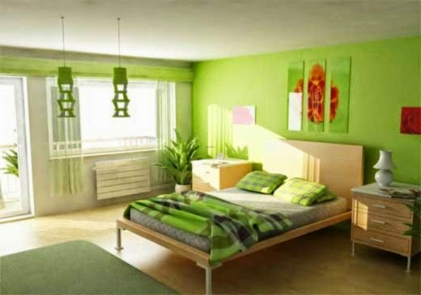 Habitaciones color verde ideas para decorar dormitorios for Jugendzimmer colors