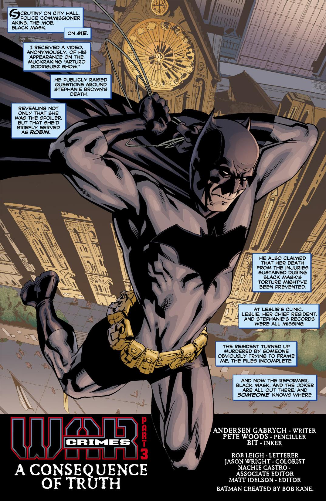 Detective Comics (1937) 810 Page 3