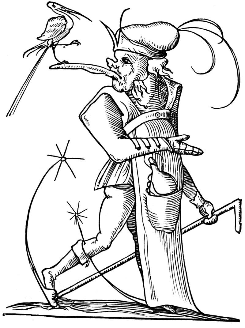 Onbux in ye olde mowrnings: François Rabelais. Les songes