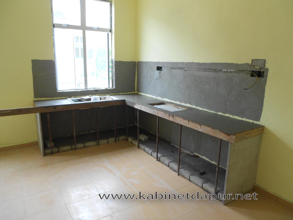 Ini Projek Kabinet Dapur Terbaru Kami Bulan Jun 2017 Tuan Rumah Encik Khairul Memilih Jenis Table Top Konkrit Dan Pintu Melamine