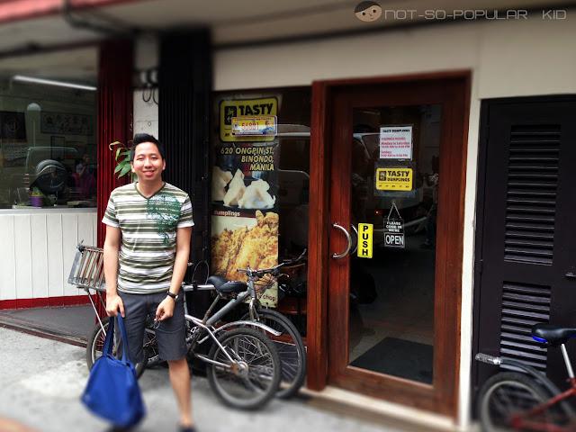Tasty Dumplings Restaurant Binondo