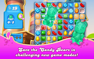 Free download official game Candy Crush Soda Saga .apk full + data
