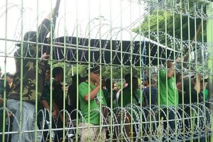 Kisruh! Niat Silaturrahmi Ke Kantor Diponegoro, PPP Kubu Djan Faridz Dihadang oleh PPP kubu Romahurmuziy