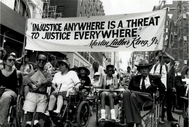 Justin Dart / Injustice anywhere is a threat to justice everywhere