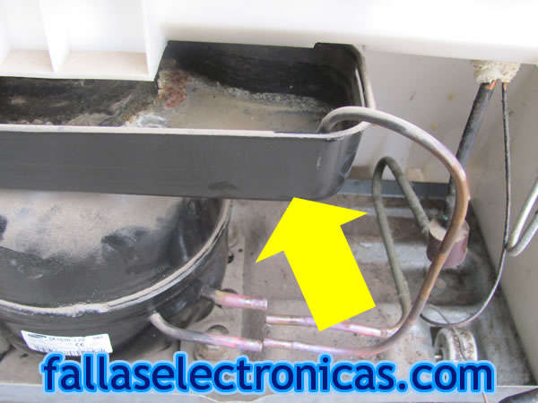 Refrigerador Samsung Bota Agua Al Piso