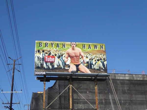 Bryan Hawn YouTube billboard