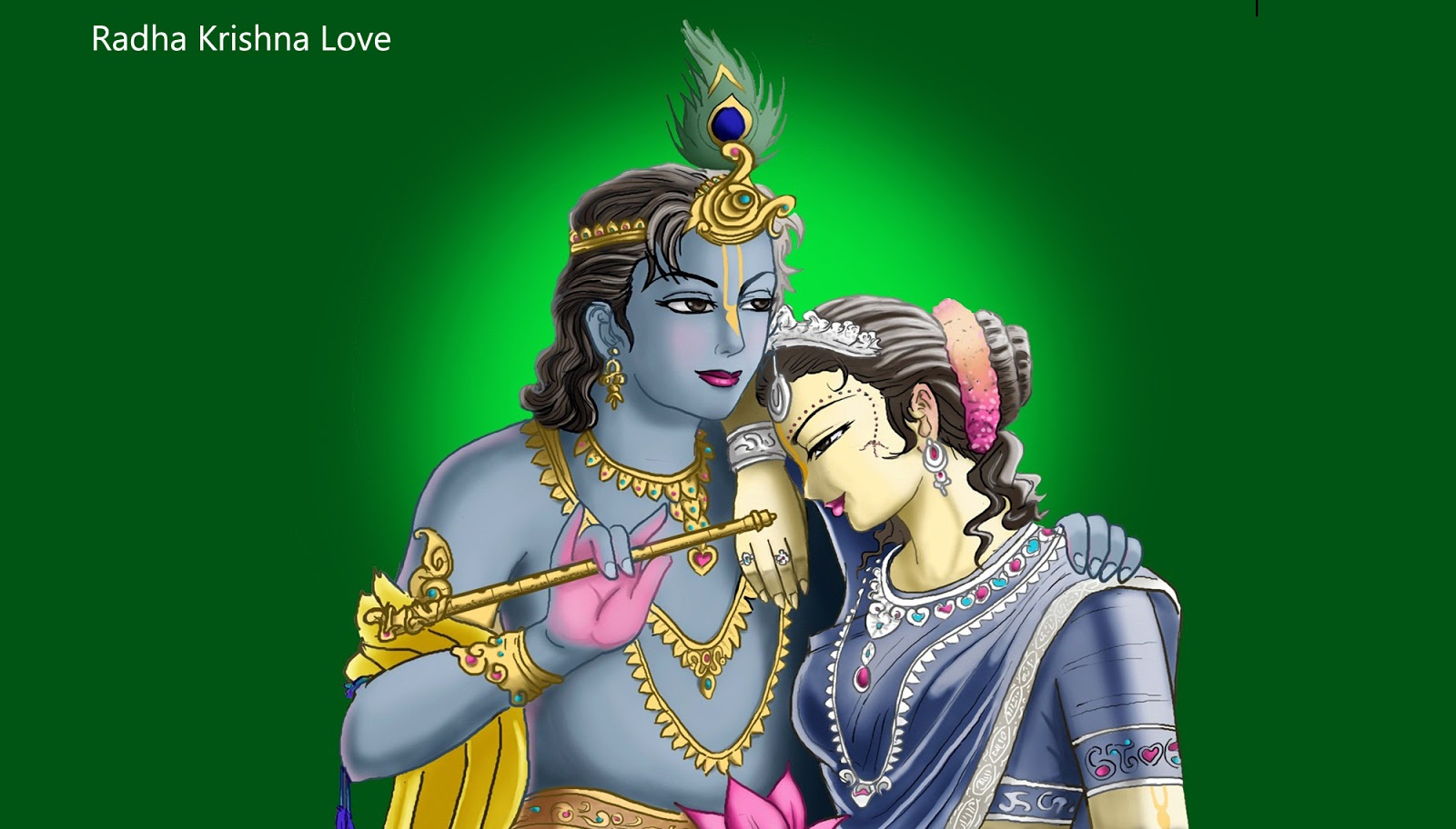 Beautiful Images of Lord Krishna and Radha