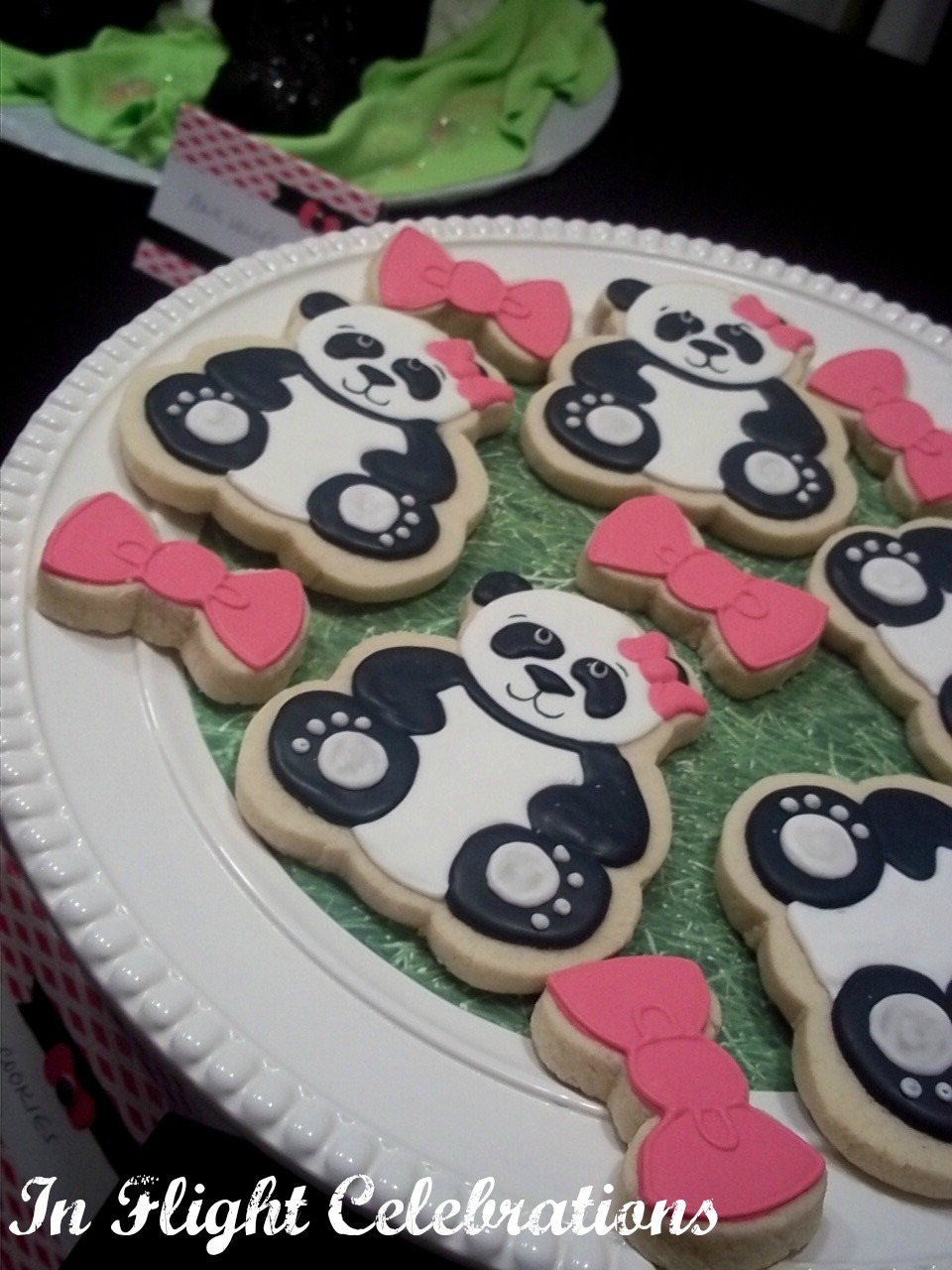 In Flight Party Ideas A Panda Party 13th Birthday