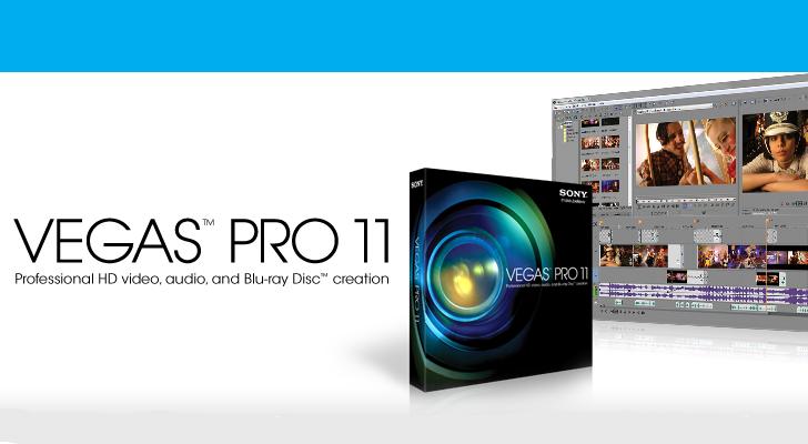 تحميل سوني فيغاس 11 Sony Vigas Pro بالعربية والإنجليزية لأجهزة 32 بت و 64 بت
