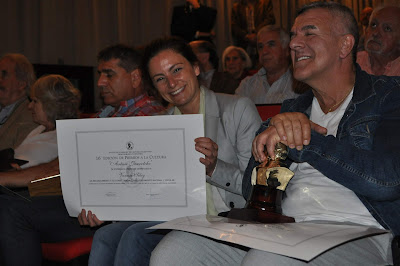 Vanesa Siley recibió el premio Arturo Jauretche a la labor militante