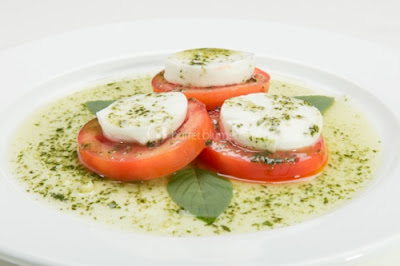 Molho Pesto na Salada