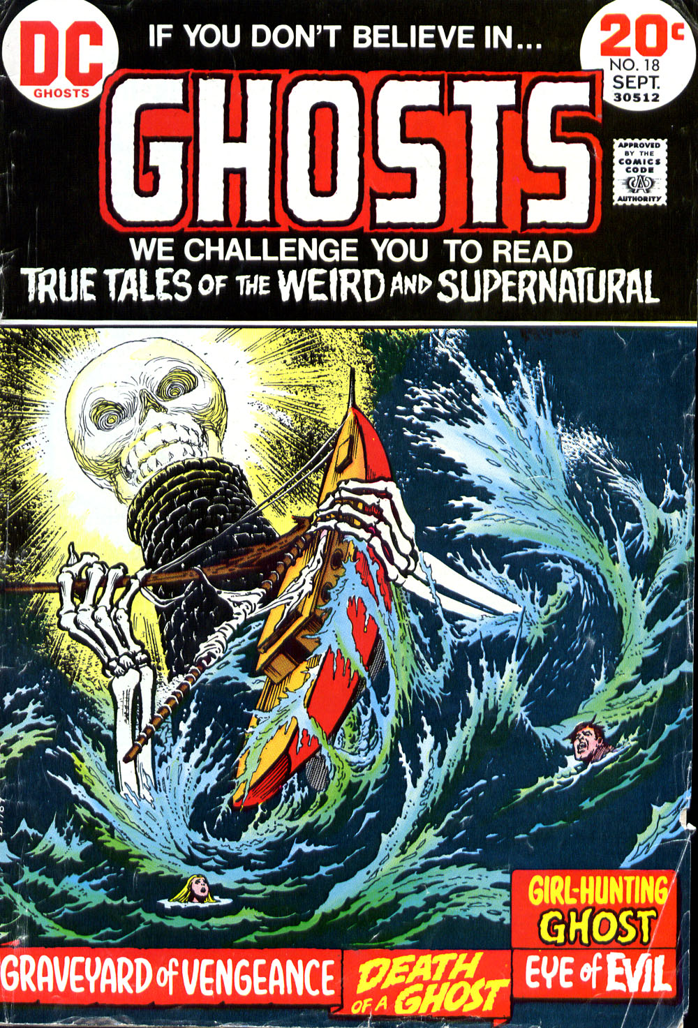 Read online Ghosts comic -  Issue #18 - 1