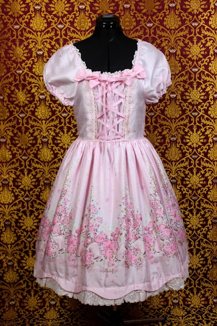 lolita fashion, lolita wardrobe, kawaii, jfashion, auris lothol, eglcommunity, floral tea, btssb, baby the stars shine bright