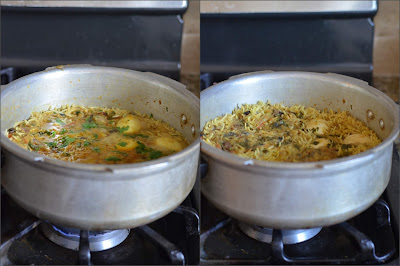 egg biryani in rice cooker