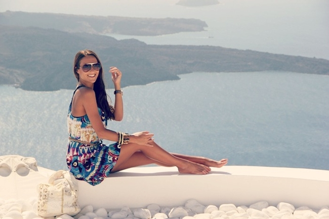 Cyclades islands fashion and outfits