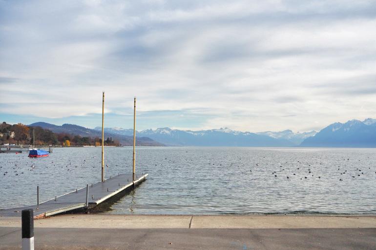 Lac Léman en Suisse