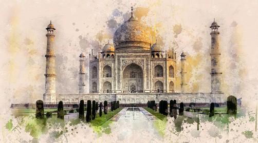 Taj-Mahal (India)