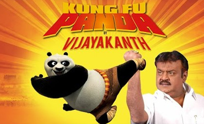 Kung Fu Panda By Captain Vijayakanth – South Indianized Trailers