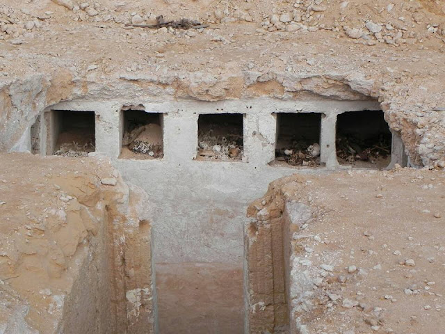 Egyptian archaeological mission discovers Ptolemaic tomb in Alamein