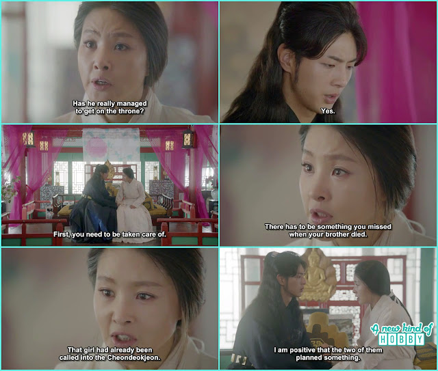 queen yoo ask p[rince wang jung to look into king yoo death - Moon Lovers Scarlet Heart Ryeo - Episode 17 (Eng Sub)