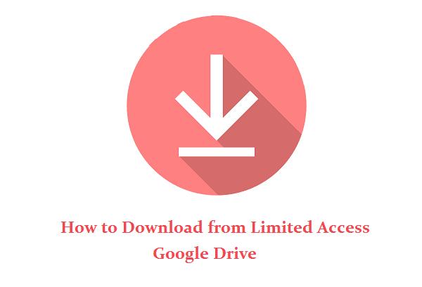 mengatasi google drive tidak bisa download