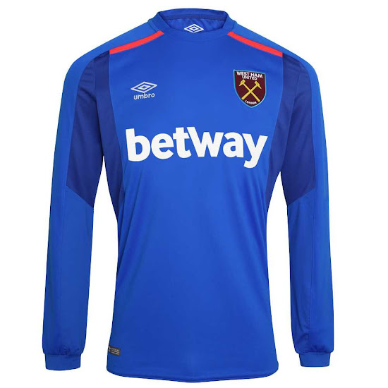 check out 2bfc4 06841 West Ham 17-18 Goalkeeper Kit Released - Footy Headlines