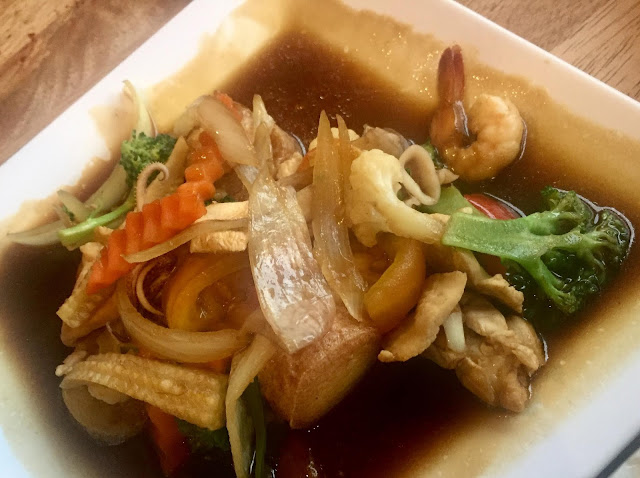 Restoran Sala Thai @ Kajang, Restoran Sala Thai kajang, sala thai kajang, sala thai, restoran sala thai, tofu, tofu sos tiram, tofu masak sos tiram