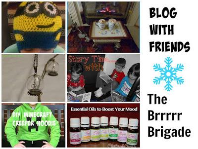 Blog With Friends: The Brrrr Brigade | www.BakingInATornado.com