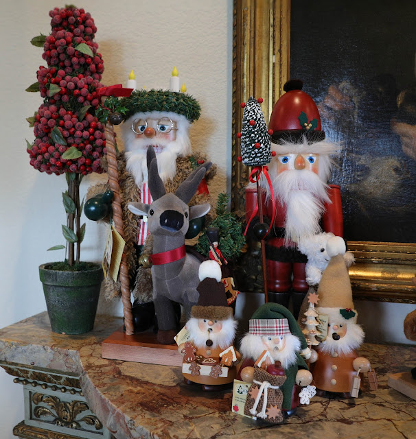 Santa Nutcracker Display