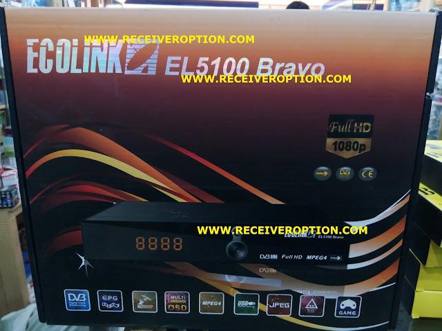 ECOLINK EL5100 BRAVO HD RECEIVER DUMP FILE