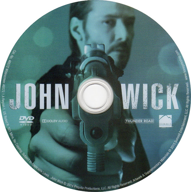 Label DVD John Wick