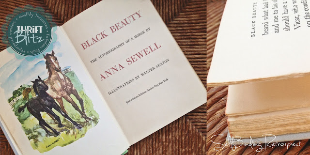 hardcover black beauty book - Thrift Blitz Episode Four - SelfBinding Retrospect by Alanna Rusnak