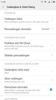Dalam beberapa kasus data yang ada pada perangkat xiaomi Langkah Mudah Backup dan Restore Perangkat Xiaomi
