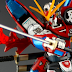 Custom Build: HGBF 1/144 Kamiki Burning Gundam
