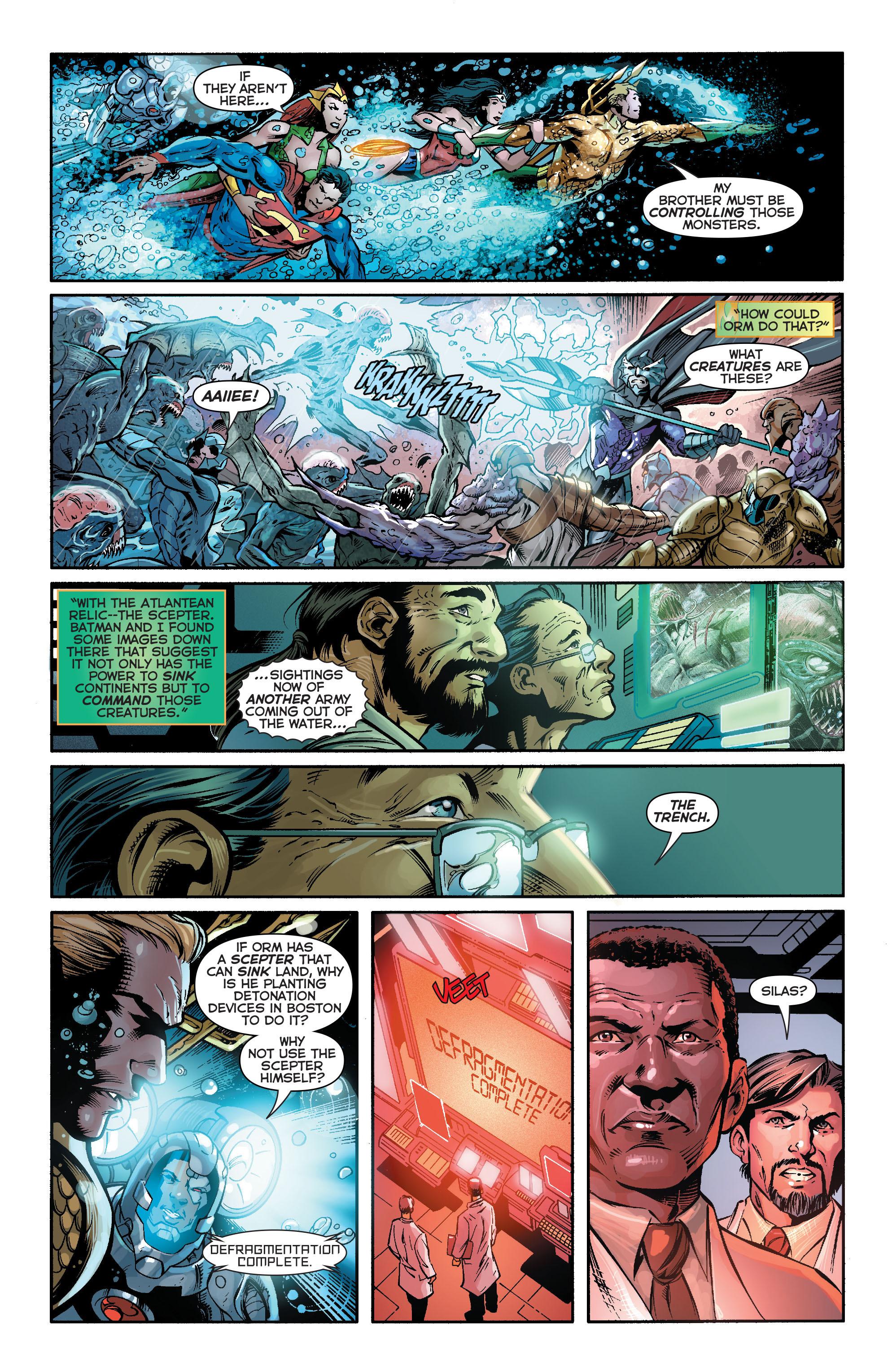 Read online Aquaman (2011) comic -  Issue #16 - 19