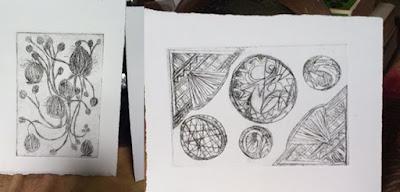 nontoxic printmaking drypoint intaglio