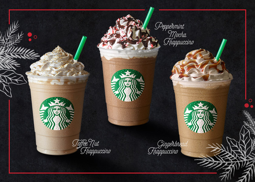 Starbucks Holiday Beverages Return With Peppermint Mocha