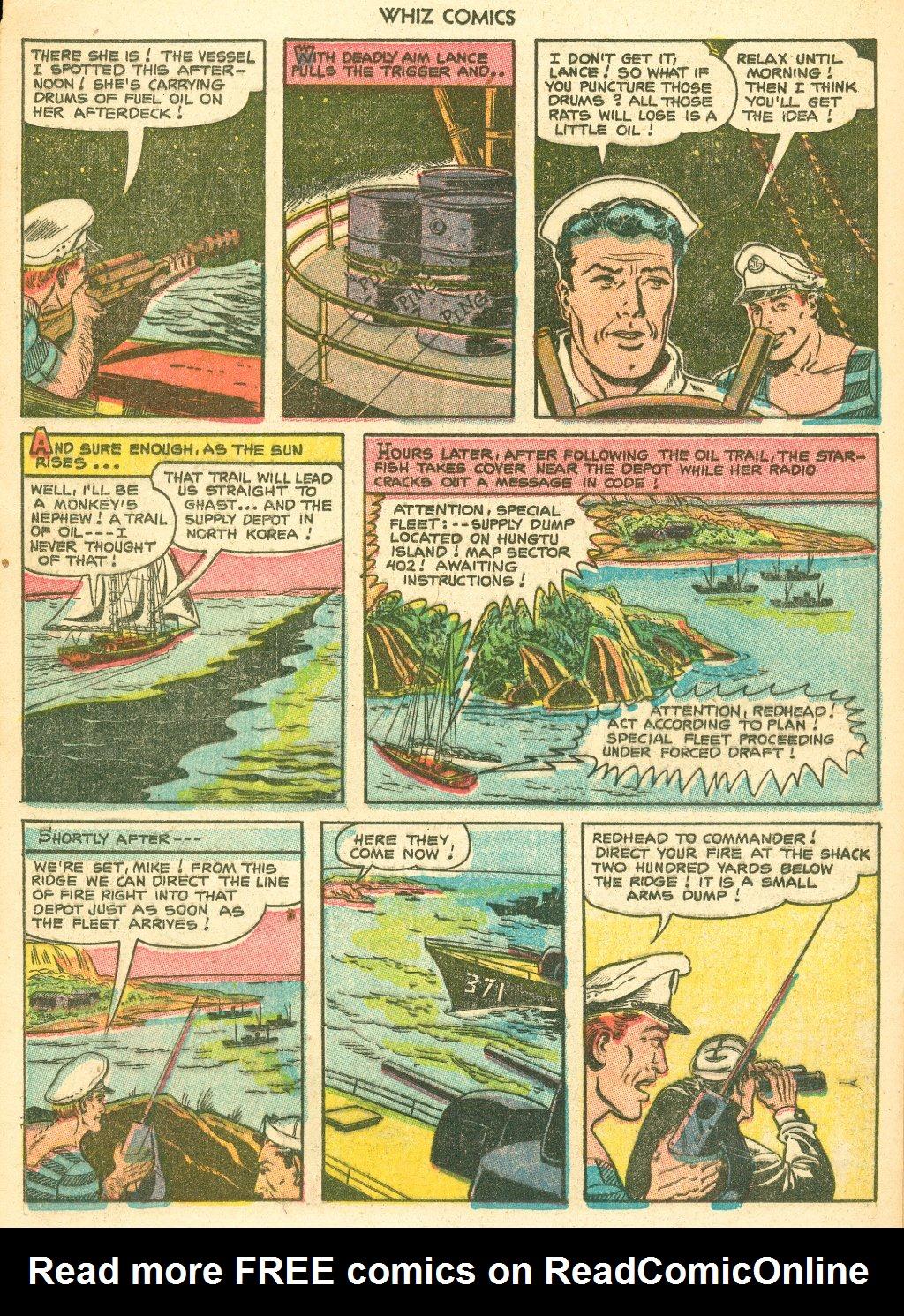 WHIZ Comics #155 #156 - English 20