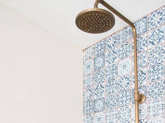 Decor - Azulejos na Casa de Banho