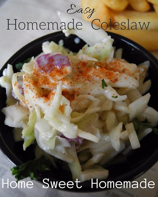 Easy Homemade Coleslaw