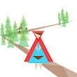 Little Red Triangle Hood