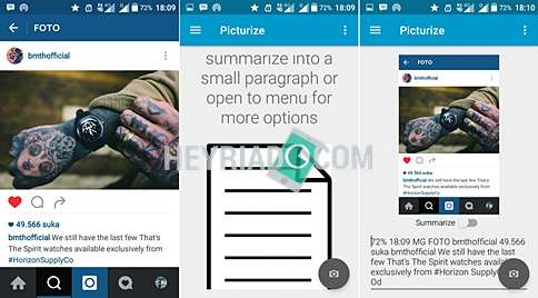 Cara Copy Teks Instagram di Android