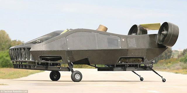 AirMule mobil terbang paling canggih yang pernah di buat