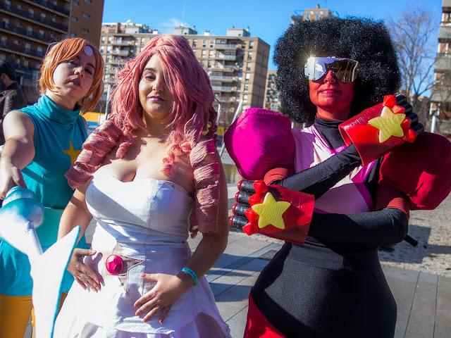 Salon del comic de Zaragoza 2017 - Quedada cosplay en la entrada