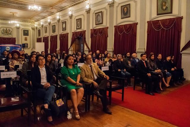 Presentación de la Noche del Galardón Cultural en Quetzaltenango
