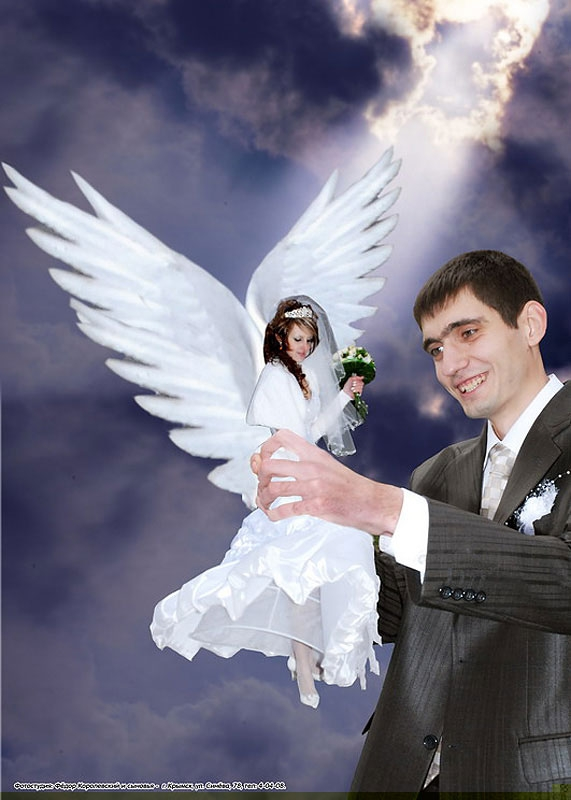 Copyranter Crazy Photoshopped Russian Wedding Photos